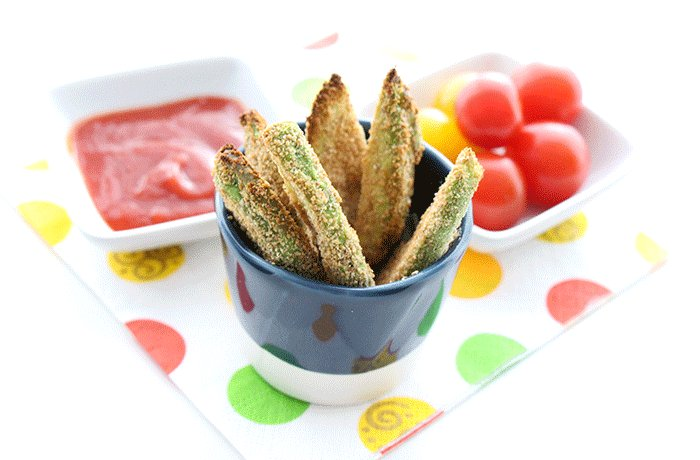 Avocado-Sticks