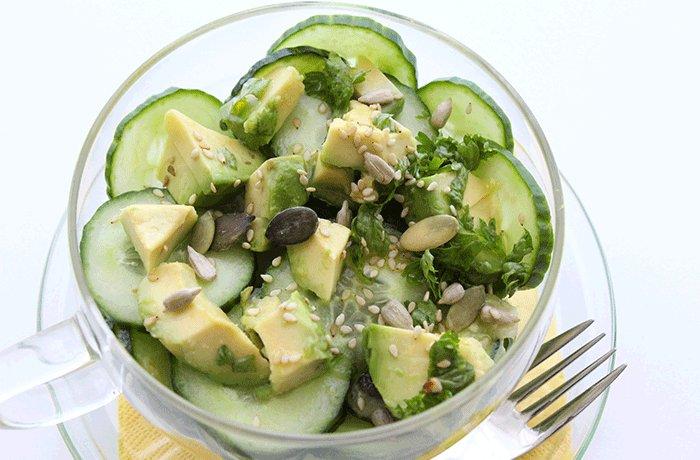 Gurkensalat-mal-anders