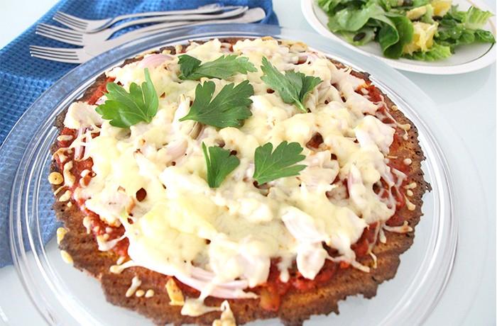 Pizza Süßkartoffel