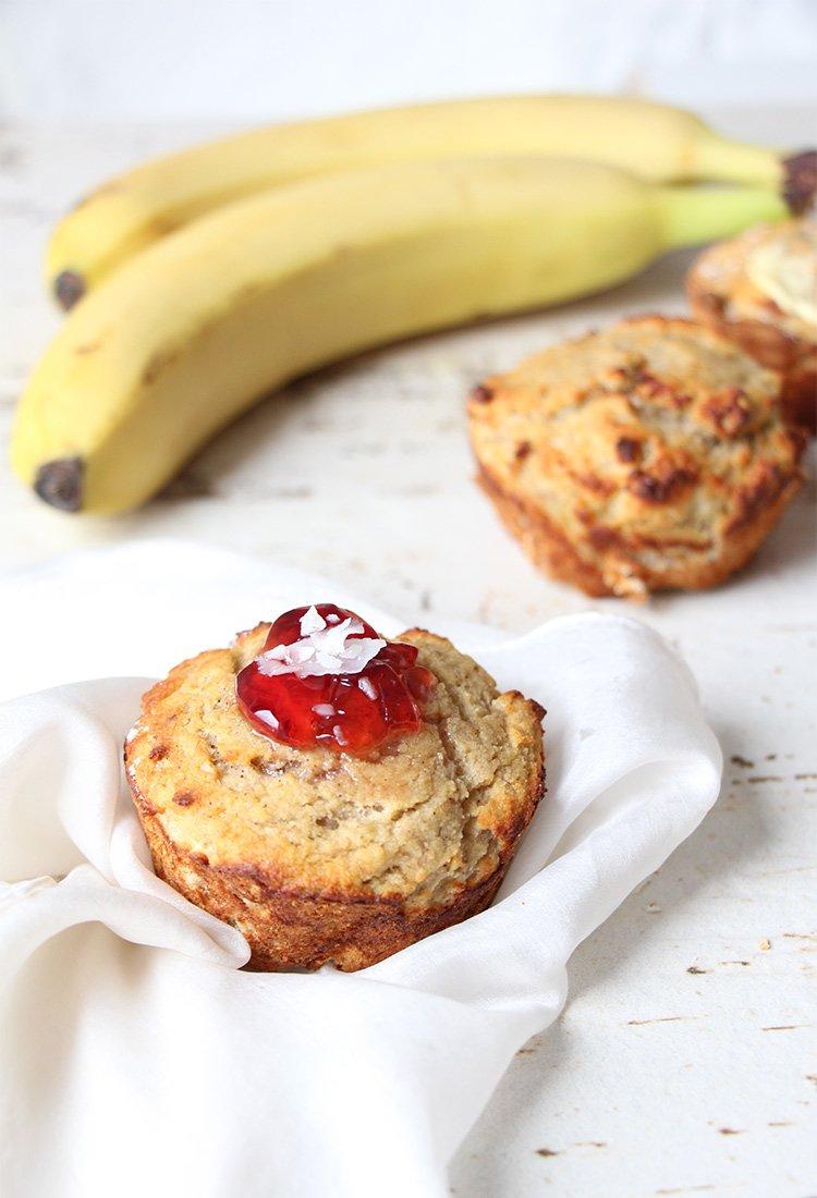 Fruhstucks Muffins Aus Kokosmehl My Healthy Kid