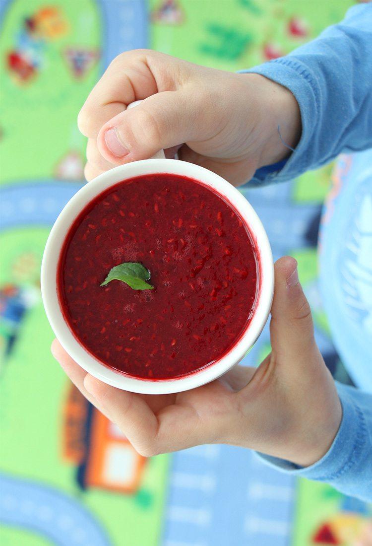 Suppe-für-Kinder-mit-Himbeeren