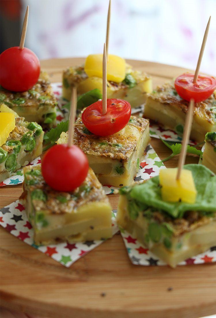 Tortilla-Spieße