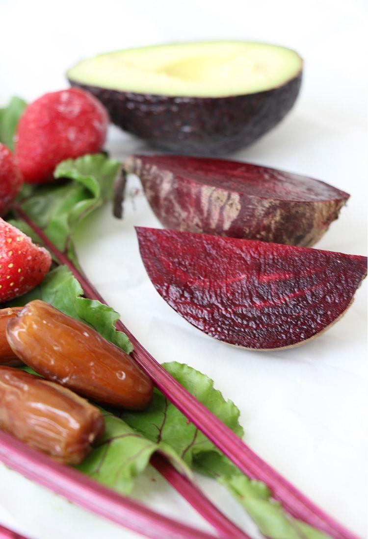 Zutaten-für-Rote-Beete-Smoothie