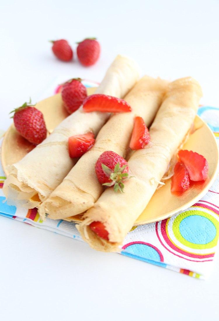 Erdbeeren-und-Dinkel-Crepes